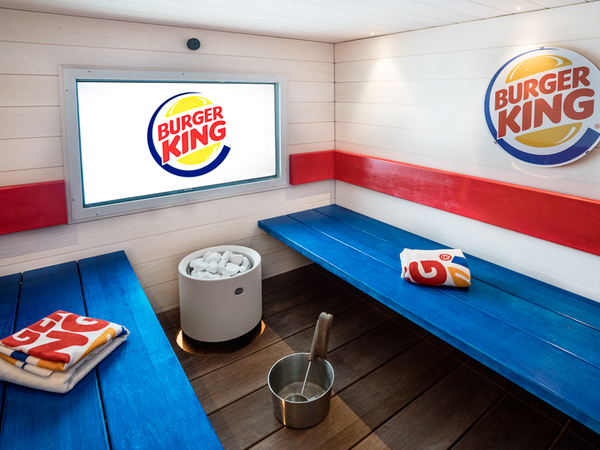 BURGER KING® -sauna Kuva 3