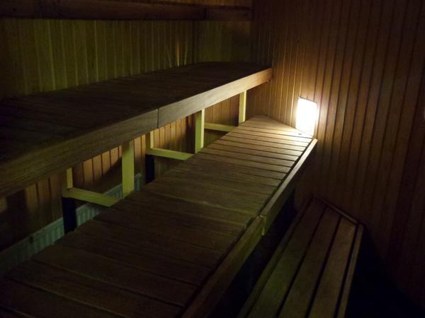 Rauman Keilahallin saunatila ja kabinetti Kuva 1