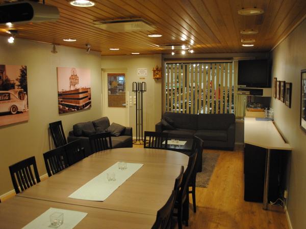 Porin keilahallin Sauna ja kokoustilat Kuva 7