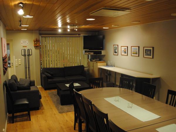 Porin keilahallin Sauna ja kokoustilat Kuva 2