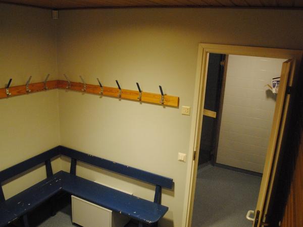 Porin keilahallin Sauna ja kokoustilat Kuva 3