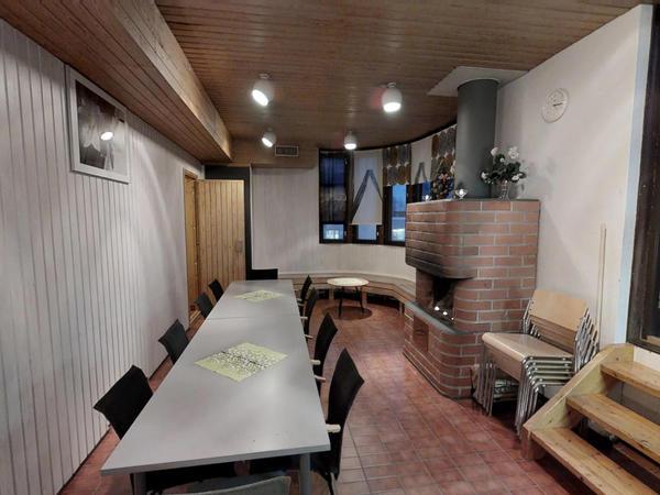 Saunasatama sauna- ja kokoustila Kuva 1