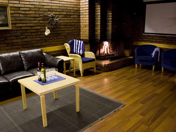 Miittinki kokous- ja saunatilat alakerta Kuva 1