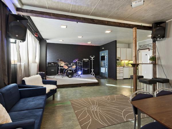 Rock Above Studion Sauna Kuva 1