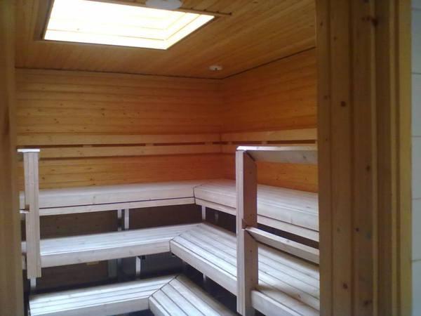 Viinikan sauna- ja kokoustilat Kuva 1